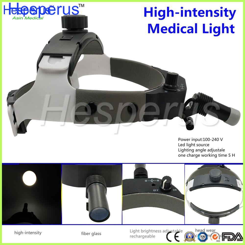 High Quality NEW Arrival Adjustable Dental Surgical Headlight LED Headlamp Black Medical Lab Equipments