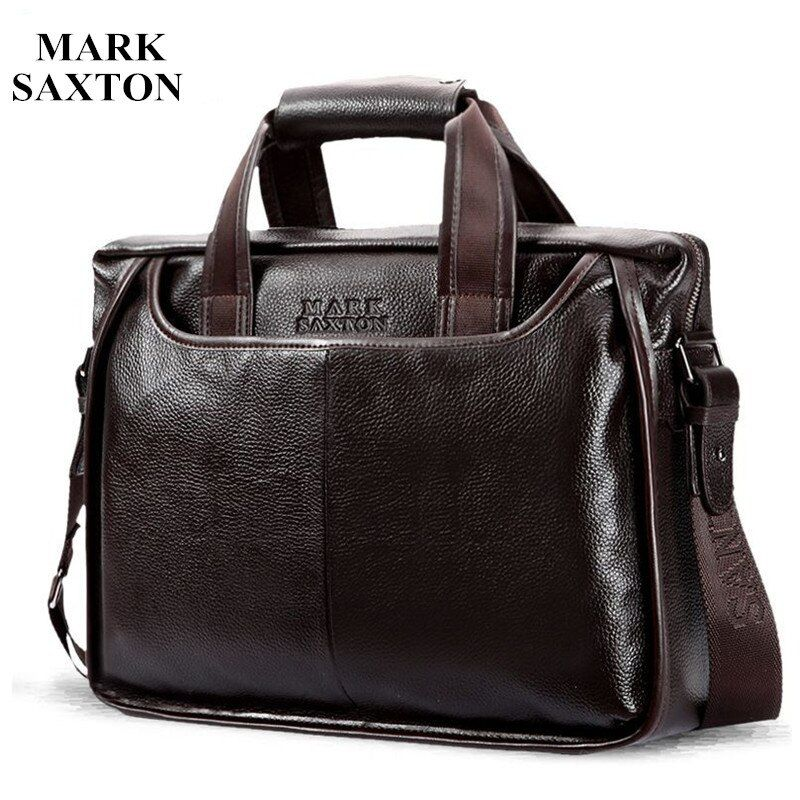 2017 New Fashion cowhide <font><b>male</b></font> commercial briefcase /Real Leather vintage men's messenger bag/casual Natural Cowskin Business bag