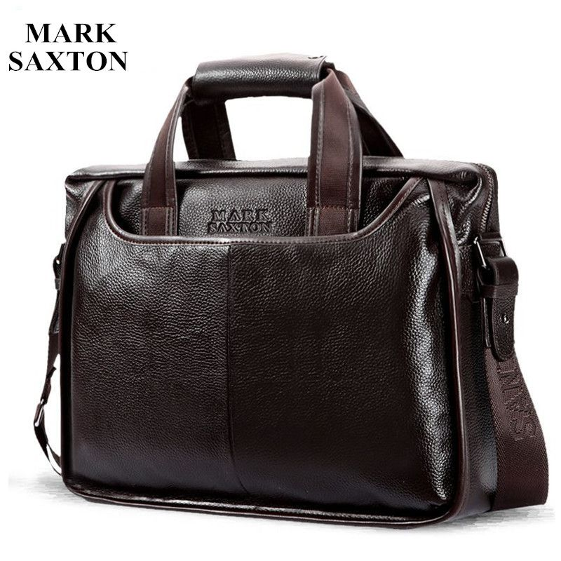 2017 New Fashion cowhide male commercial briefcase /Real Leather vintage men's messenger bag/casual Natural Cowskin Business bag