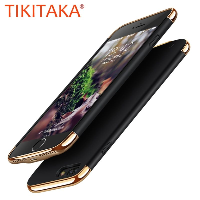 Portable Wireless Battery Charge Phone Cases For iphone 8 7 6 6s Plus Cover Top Quality Charging Battery Charger Case Power Bank