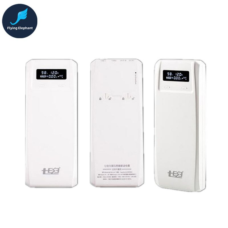 New Arrival Voltage Regulating QC3.0 QD Laptop Power Bank ADJ. 18650 Battery Box QiDian 8 Sections Removable Battery (QD188BFC)
