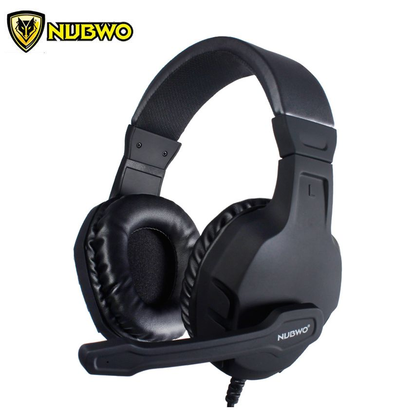 NUBWO U3 PC Gamer Headset Computer Gaming Headphone Stereo Bass Casque with Microphone For PS4 /Xbox One Gamepad Mobile Phone TV