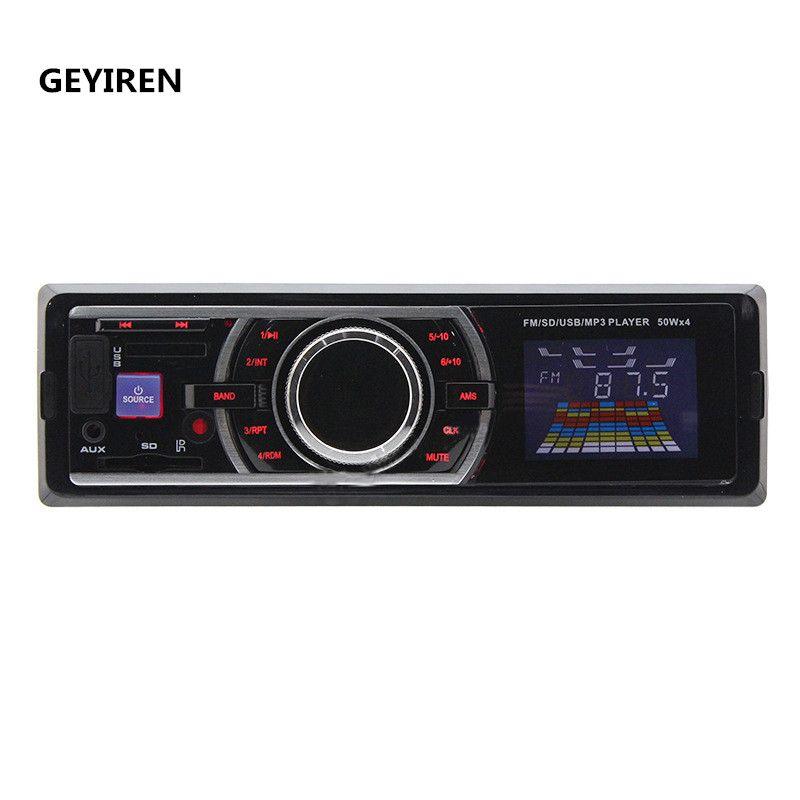 GEYIREN 6203 Car Cassette Player 12V Car FM/USB/SD/MP3/RADIO Player High Quality Car Mp3 Player With USB/SD