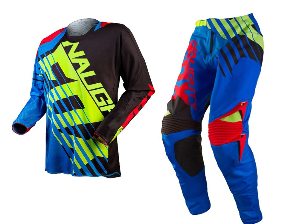 2017 NAUGHTY Motorcross 360 Savant Jersey&Pant Motorbike Dirt Bike Offroad Cycling MX set