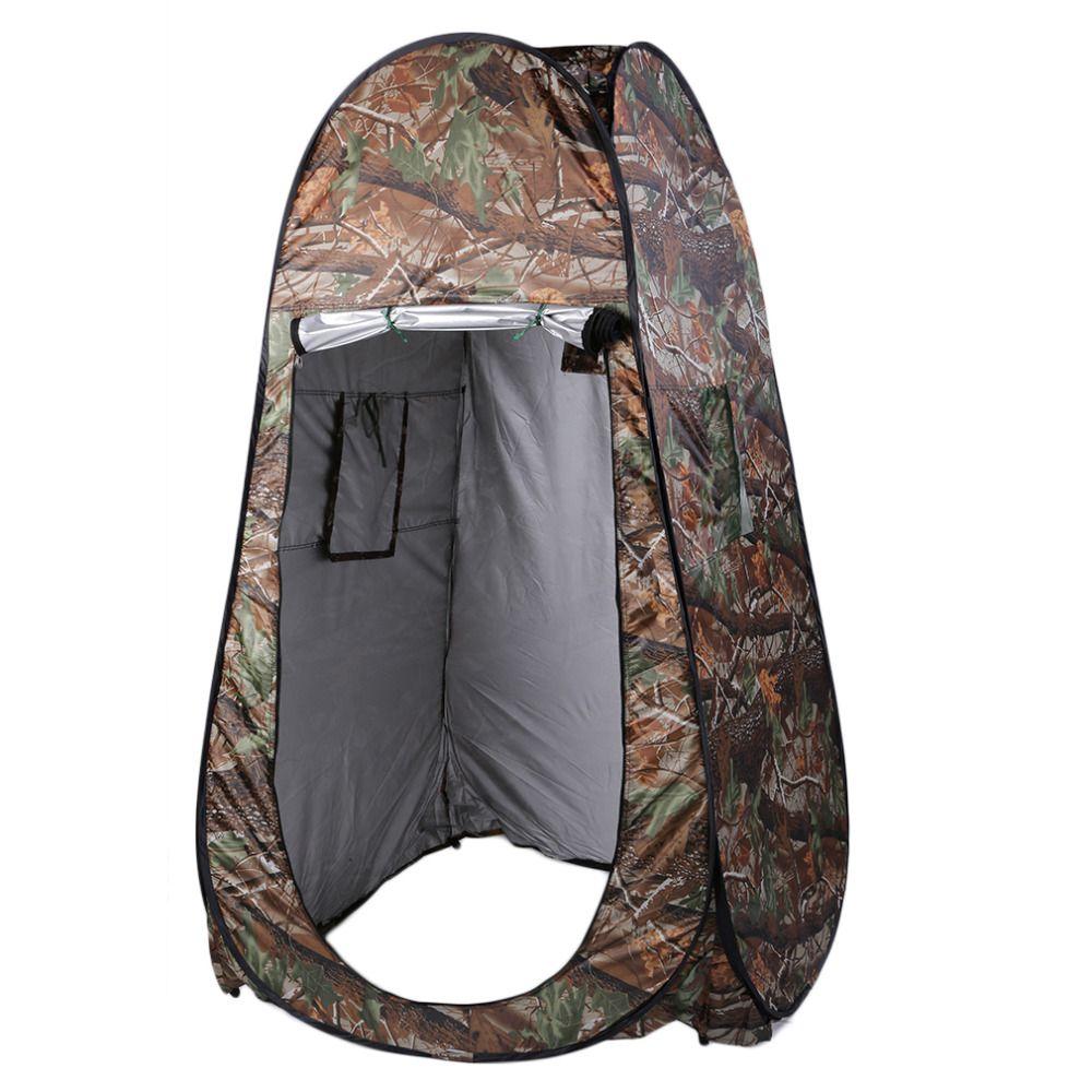 Folding 130x130x195 cm Dusche Zelt Strand Angeln Dusche Outdoor Camping Toilettenzelt Umkleideraum Privatunterschlupf 2 Fenster + Tasche