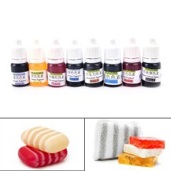 HOT SALE 8 Colors 5ml Handmade Soap DYE Pigments Colorant Toolkit Materials Hand Made Soap Base Colour Liquid Pigment Wholesale
