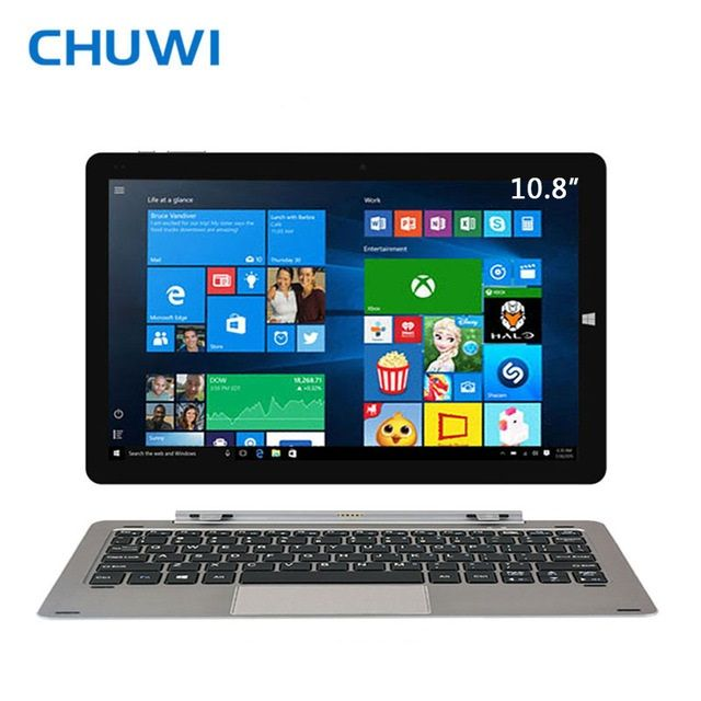 CHUWI Official! 10.8 Inch CHUWI Hi10 Plus Dual OS Tablet PC Windows 10 <font><b>Android</b></font> 5.1 Intel Atom Z8350 Quad Core 4GB RAM 64GB ROM