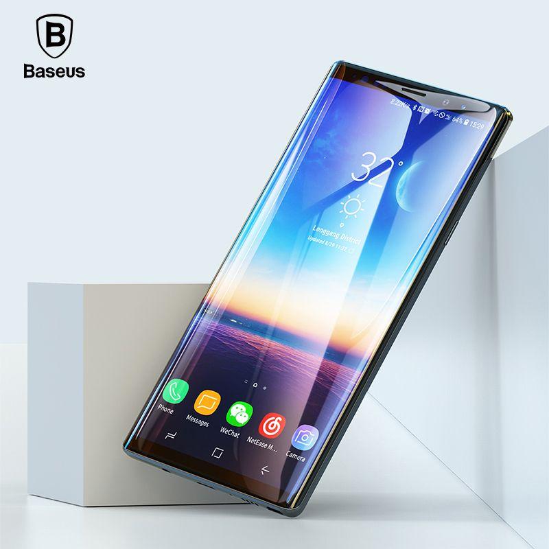 Baseus 3D protecteur d'écran de Surface pour Samsung Note 9 0.3mm mince 9 H verre trempé pour Samsung Galaxy Note 9 verre de protection