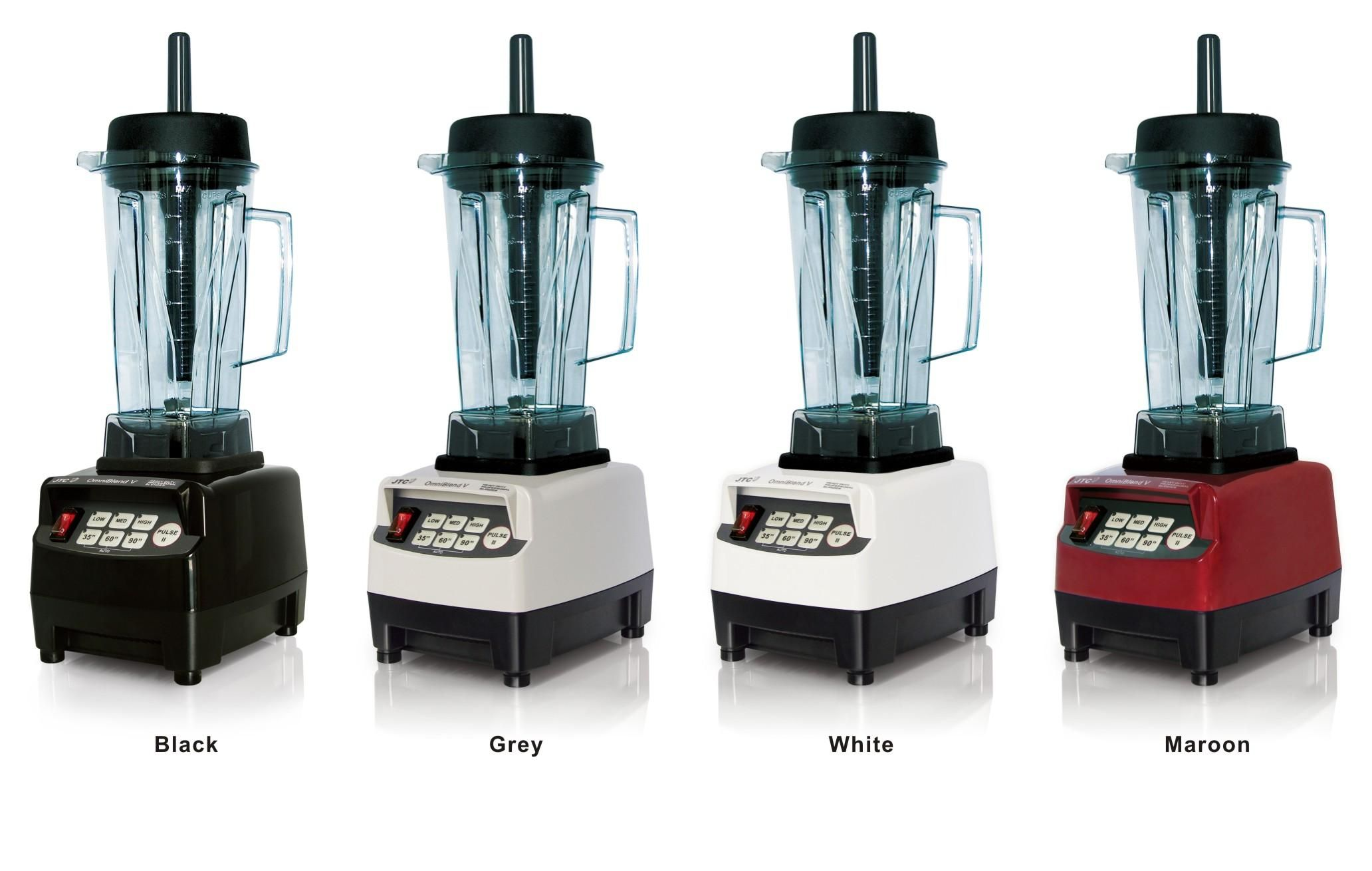 JTC Heavy duty commercial blender with PC jar, Model:TM-800, Black, FREE SHIPPING, 100% GUARANTEED NO. 1 QUALITY IN THE WORLD.