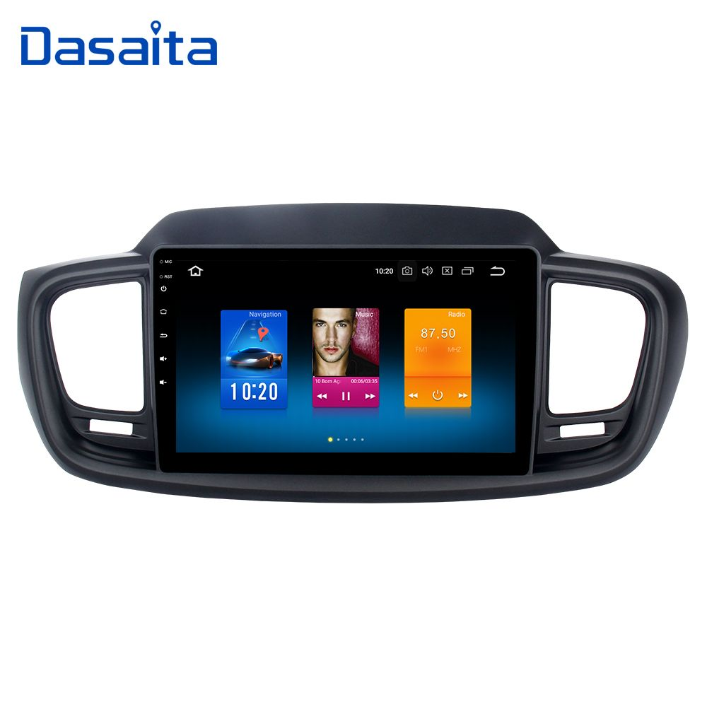 Car Radio GPS Android 8.0 for Kia Sorento 2015 2016 with 10.2