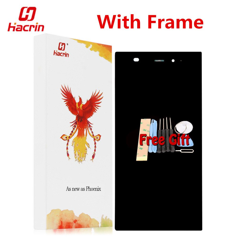 hacrin Xiaomi Mi3 LCD Display + Touch Screen With Frame Replacement For Xiaomi m3 m 3 mi WCDMA Mobile Phone