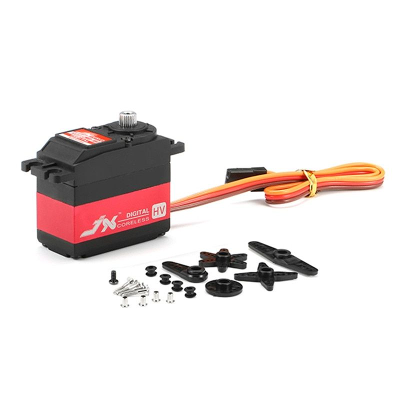 Hot New JX Servo PDI-HV5932MG 30KG Large Torque 180 High Voltage Digital Servo For RC Parts
