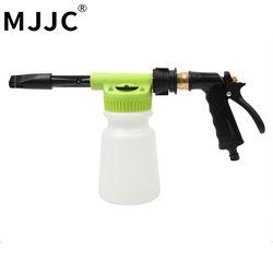 MJJC Marque 2018 avec Haute Qualité De Lavage De Voiture Canon À Mousse Pulvérisateur avec seul jardin tuyau, pas besoin de puissance ou de gaz