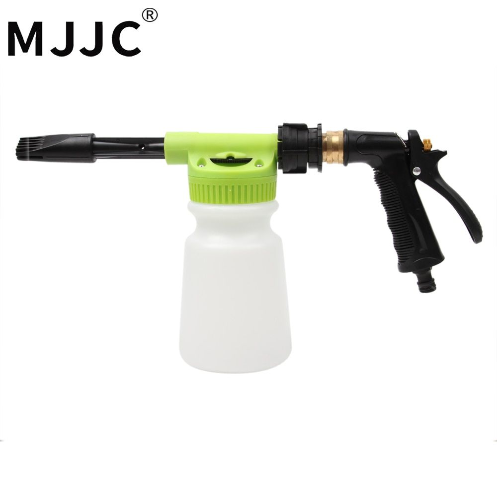MJJC Brand with High Quality Car Wash Foam Gun Sprayer with only garden hose, no need of power or gas