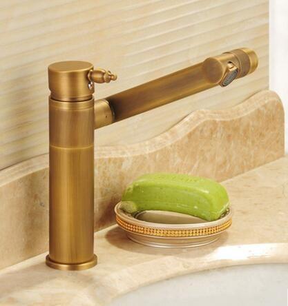 Rotation Bassin robinet en laiton salle de bains robinet mitigeur torneiras par pia de banheiro évier cuisine robinet d'eau du robinet robinet