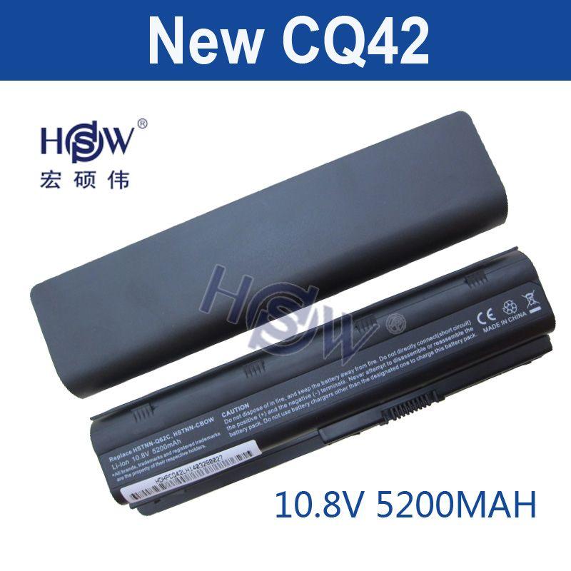 HSW 5200 MAH 6 zellen akku notebook laptop akkus FÜR HP Compaq CQ42 CQ32 MU06 MU09 G62 G72 G42 593553-001 DM4 593554-001