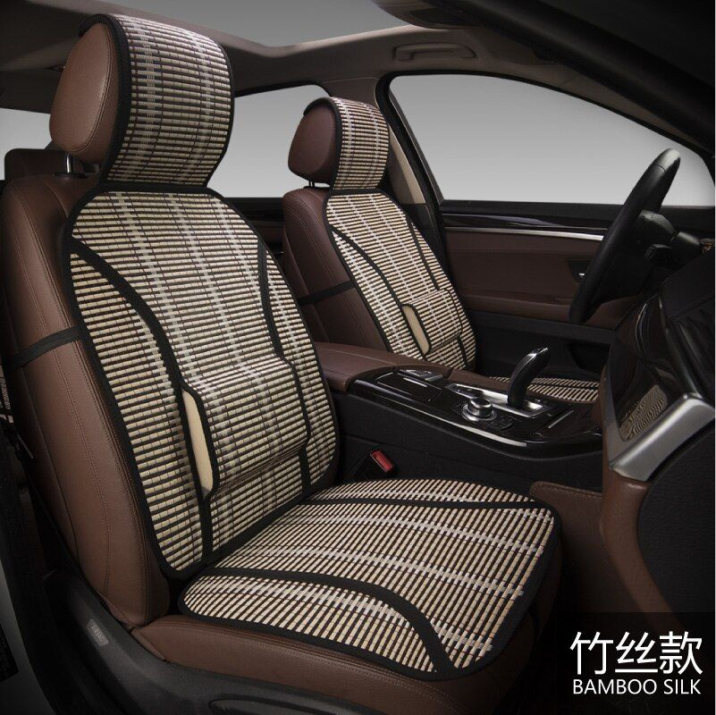 New bamboo filament air cooling cushion car bamboo silk cushion single seat <font><b>four</b></font> seasons general bamboo cushion car cushion