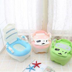 Enfants de toilette Pot Bébé Formation Vaches Garçon Fille Portable Pot Toilette bébé Pot Nourrissons Toilette Enfant Pot avec LIVRAISON brosse