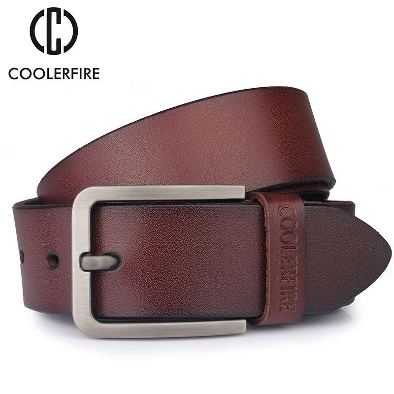 Ceinture pour hommes en cuir véritable ceinture pour hommes ceintures de créateurs hommes de haute qualité mode marque de luxe ceintures larges