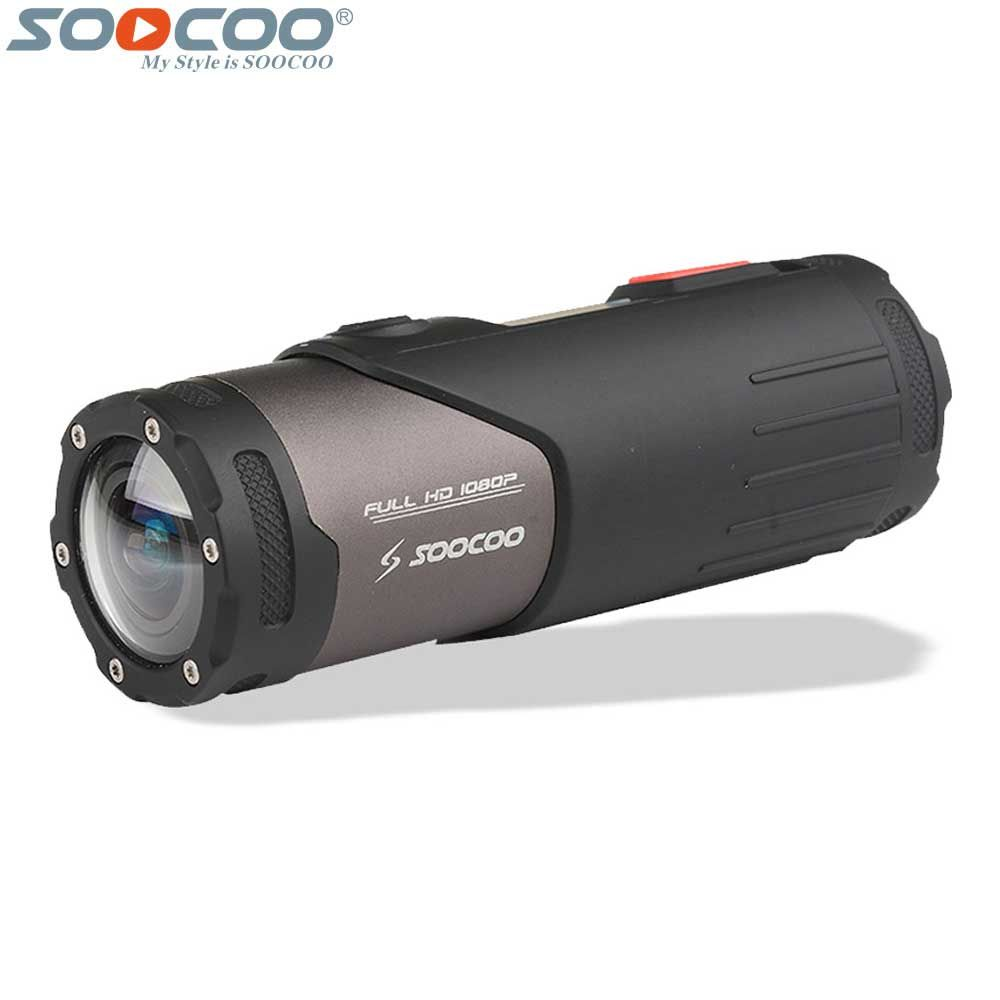 Original SOOCOO S20WS Wifi Sports Action Video Camera Waterproof 10M 1080P Full HD Bicycle Cycling Helmet Mini Outdoor Sport DV