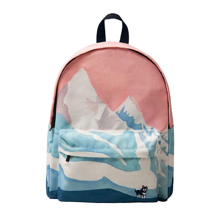 YIZI Original designed backpacks with digital printing and embroidery unisex(FUN KIK)