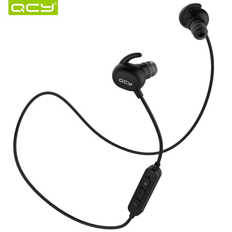 QCY QY19 IPX4-rated sweatproof headphones bluetooth 4.1 wireless sports earphones running aptx earbuds stereo <font><b>headset</b></font> with MIC
