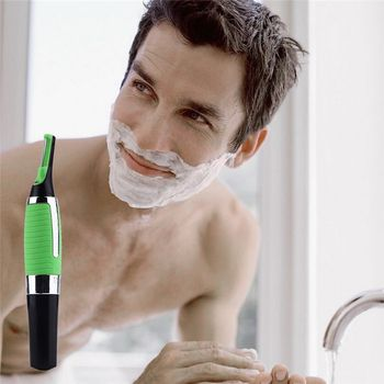 Multifunctional Nose Hair Trimmer Men Eyebrow Ear Hair Removal Haircut Trimmer Removal Machine With Led Light