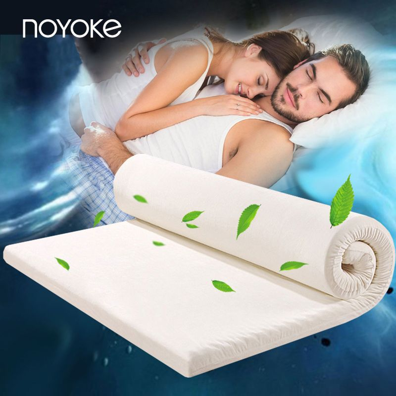 NOYOKE Thickness 5 cm High Density US Imports of Memory Foam Slow Rebound Bed Mattress Topper Memory Foam Soft Bed Mattress
