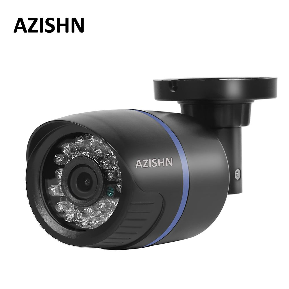 AZISHN 2.8mm wide IP Camera 1080P 960P 720P ONVIF P2P Motion Detection RTSP email <font><b>alert</b></font> XMEye 48V POE Surveillance CCTV Outdoor