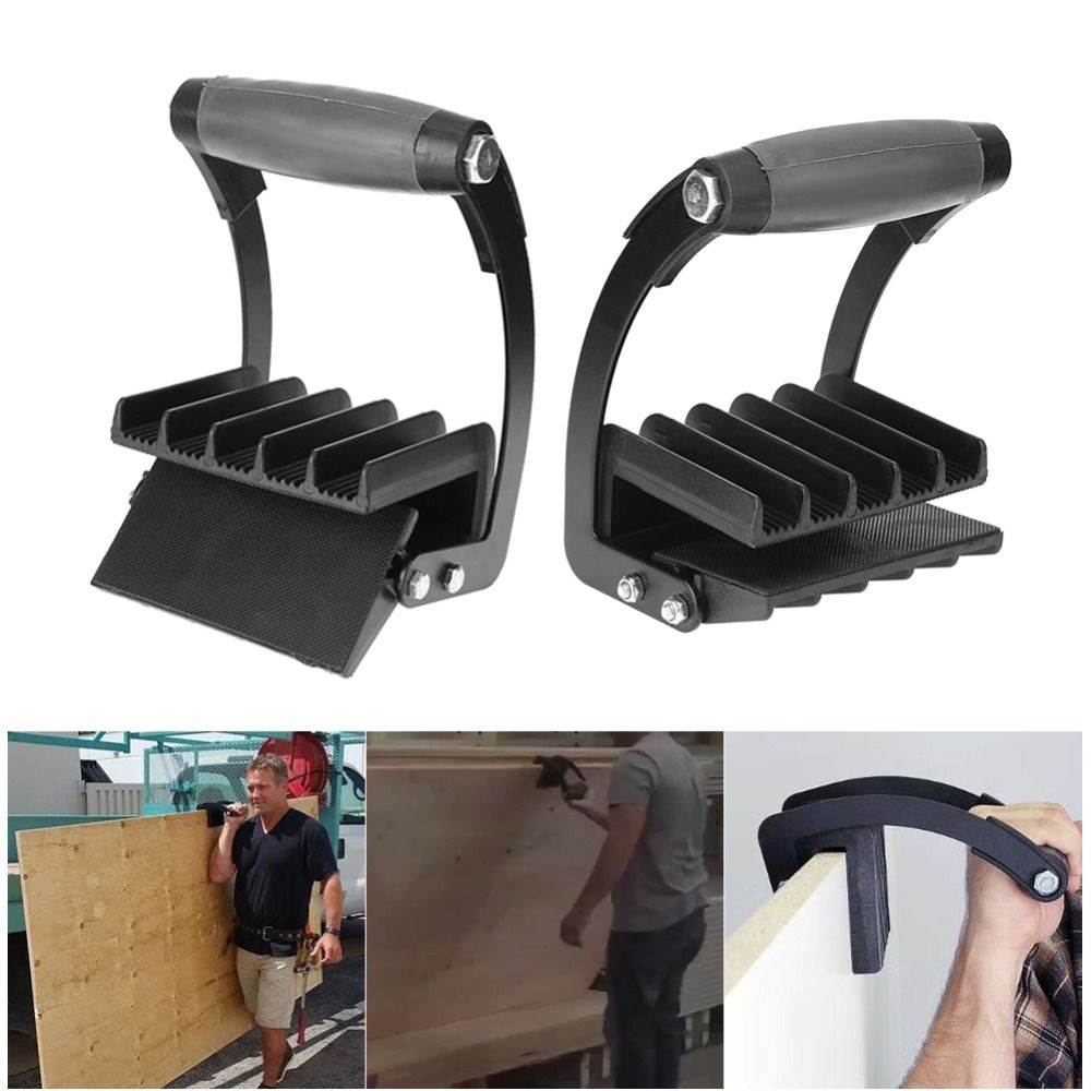 New Free Hand Easy Gorilla Gripper Panel Carrier Handy Grip Board Lifter Plywood Wood Panel Carrier Home Furniture Accessories