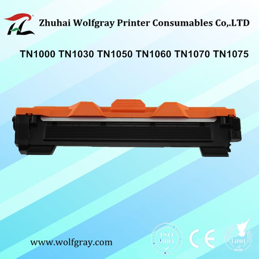 Compatible toner cartridge for Brother TN1000 TN1030 TN1050 TN1060 TN1070 TN1075 HL-1110 TN-1050 TN-1075 TN 1075 1000 <font><b>1060</b></font> 1070