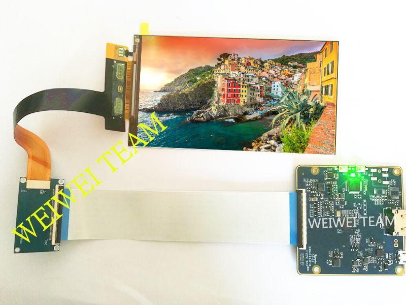 5,5 zoll 1440x2560 2 karat IPS LCD screen display mit HDMI zu MIPI controller board für Raspberry Pi 3 LS055R1SX03