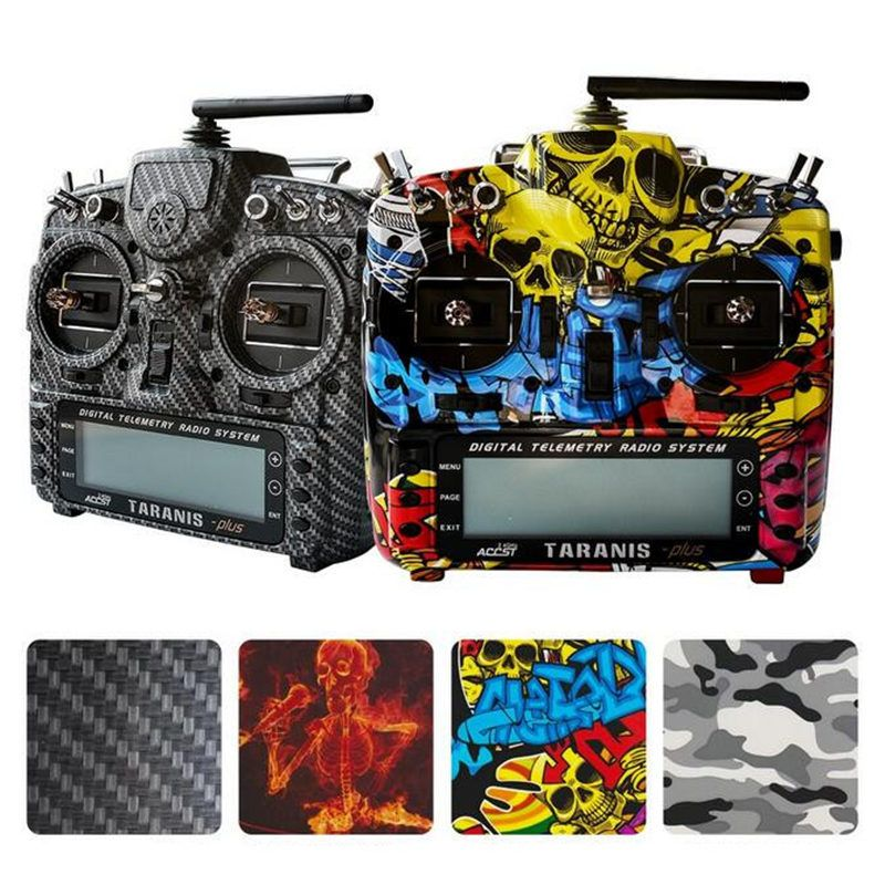 FrSky 2.4G 16CH Taranis X9D Plus SE Transmitter SPECIAL EDITION w/ M9 Sensor Water Transfer Case with Battery and Charger RC Toy