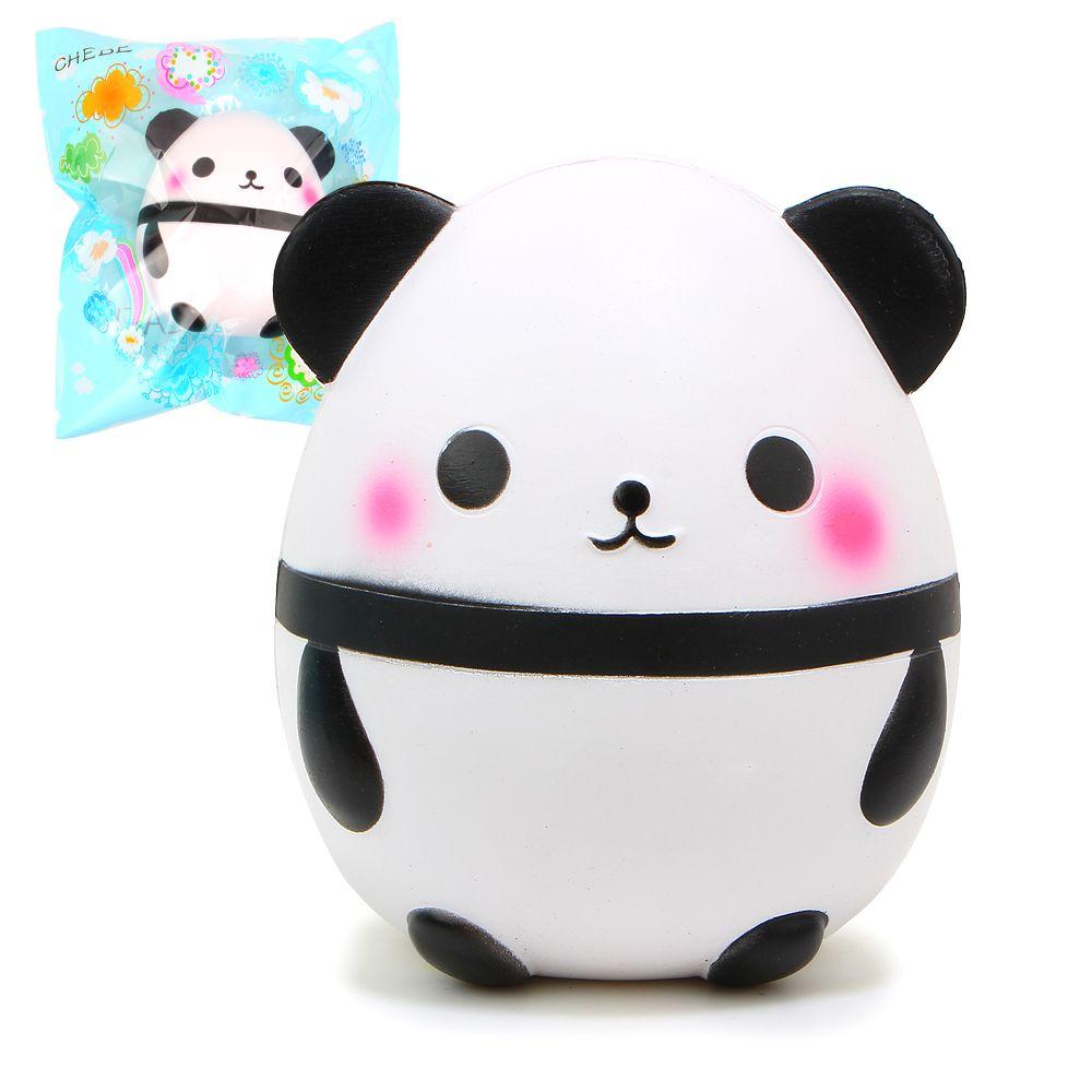 15cm Hot Kawaii Jumbo Panda Squishy Soft Doll Collectibles Cartoon Sweet Scented Super Slow Rising Original Packaging