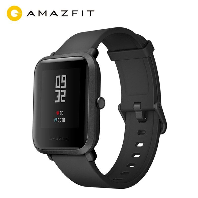 English Version MI AMAZFIT Bip Youth Smart Watch GPS GLONASS Heart Rate Monitor Android 4.4 IOS 8 Bluetooth 4.0 IP68 Waterproof