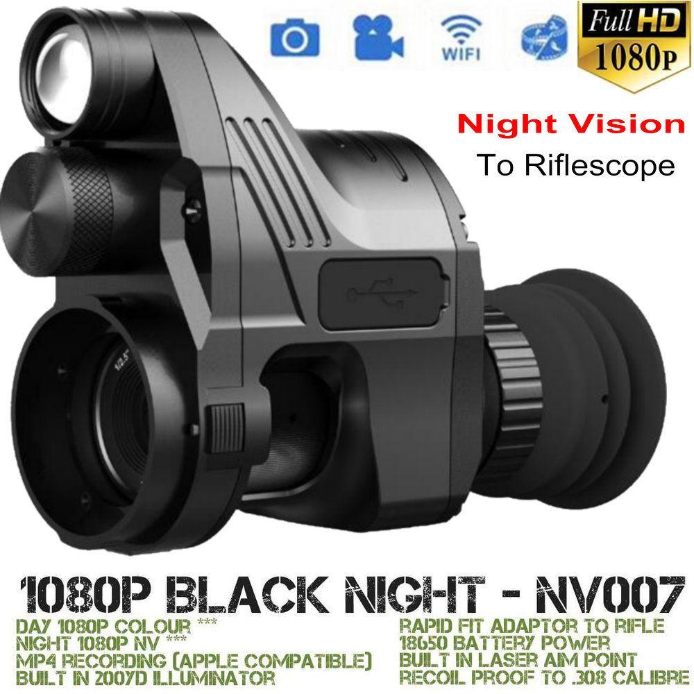 PARD NV007 nachtsicht zielfernrohr monokulare IR Nachtsicht taktische Zielfernrohr Kamera Wifi tag nacht jagd Trail Teleskop
