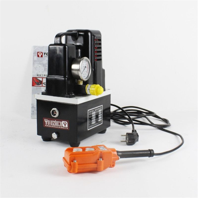 220V 600W High-voltage electric pump manual/foot switch electric hydraulic pump Hydraulic Station CTE-70AS