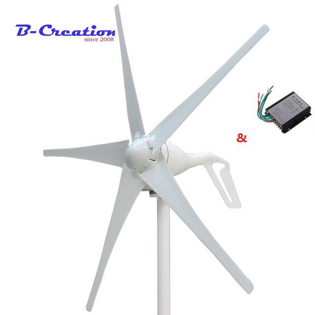 Fabrik preis, mini wind turbine/generator 3/5 klingen kleine wind mühle niedrige start wind generator + 400 w wind controller
