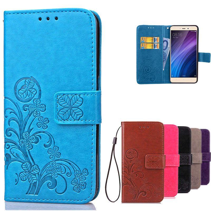 Redmi4 Wallet Flip Leather Case For Xiaomi Redmi 4 Pro Prime Original Luxury Silicone Cover Case For Xiaomi Redmi 4 Phone Bags