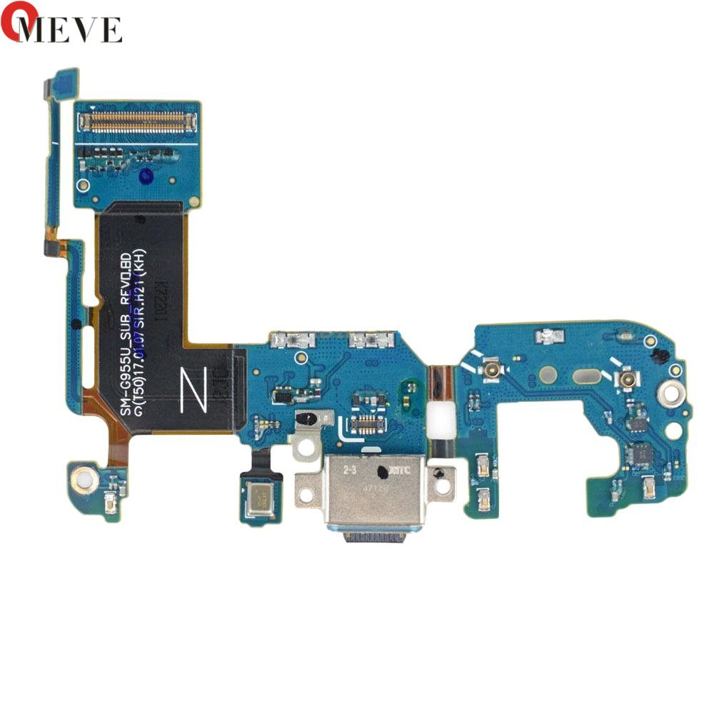 Original USB Dock Board Charging Port+Microphone+Connection FPC Flex Cable For Samsung Galaxy S8 Plus G950 G955F Replace Part