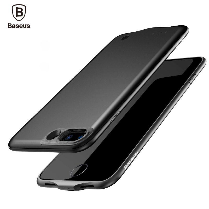 Baseus Batterie Chargeur Cas Pour iPhone 7 Plus 2500/3650 mAh Banque D'alimentation De Secours Pour iPhone 7 Batterie Externe Powerbank Couverture Cas
