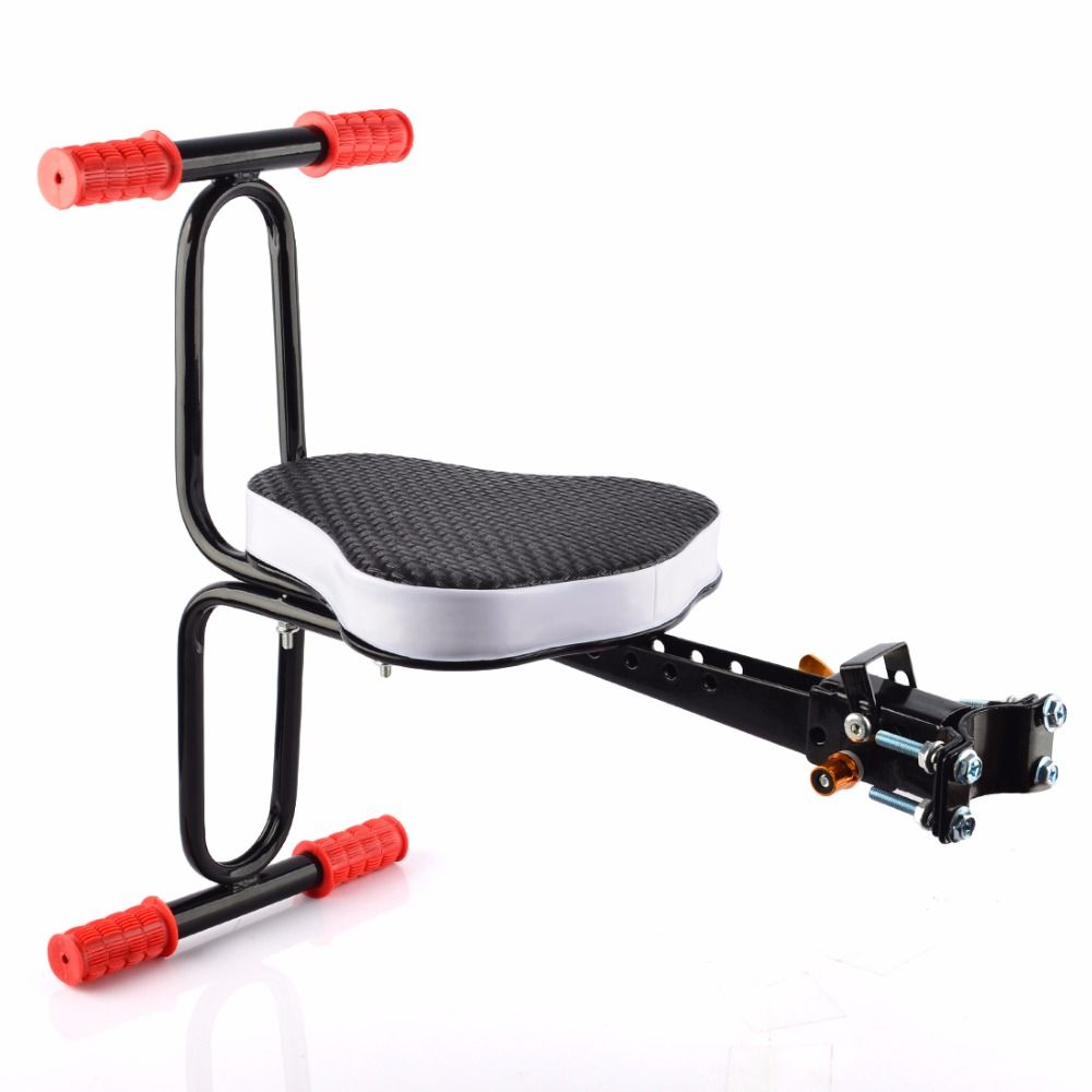 Children Bicycle Seat Quick Release Seat Bike Saddle for Kids ciclismo Safety Seat with Armrest & Pedal Bike Accessories bmx mtb