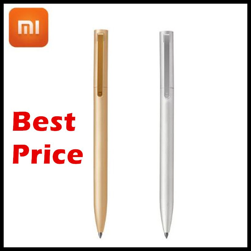 100% Original Xiaomi Mijia Sign Pen 9.5mm Signing Pen PREMEC Switzerland Refill MiKuni Japan Ink Black Refills