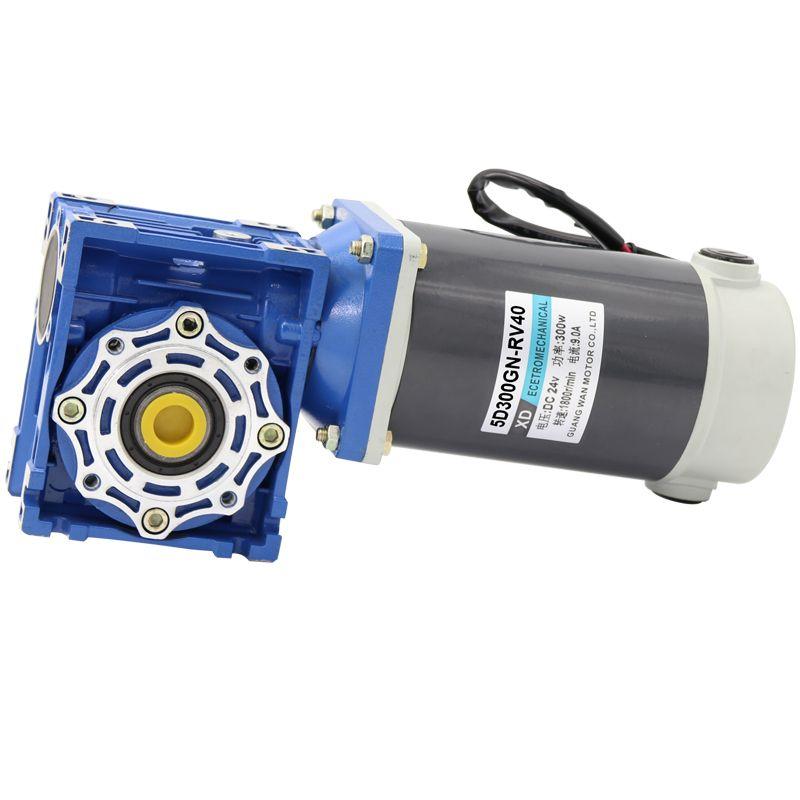 RV40 DC minderer turbine motor 12/24V300W einstellbare geschwindigkeit DC motor motor
