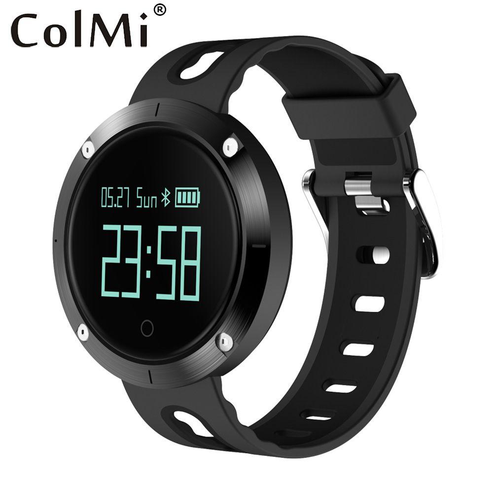ColMi Bluetooth Smartwatch Bracelet de Fréquence Cardiaque De Traqueur de Forme Physique De Moniteur de Tension Artérielle Bande De Sport Montre Intelligente