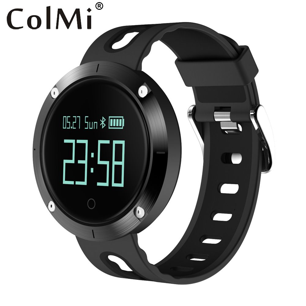 ColMi Bluetooth Smartwatch Heart Rate Wristband With Blood Pressure Monitor Fitness Tracker Sports Band Smart Watch