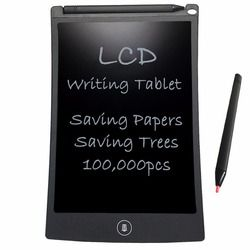NEWYES 8.5 inch Ultra-thin LCD Writing Tablets Portable E-Writer Paperless Kids Gifts for Drawing Board Free Shipping(Black)