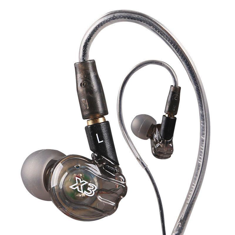 Moxpad X3 Filaire Chanteur Écouteur Remplacement Câble Casque Isolant Isolant Du Bruit Écouteurs fone de ouvido avec Micro pour MP3