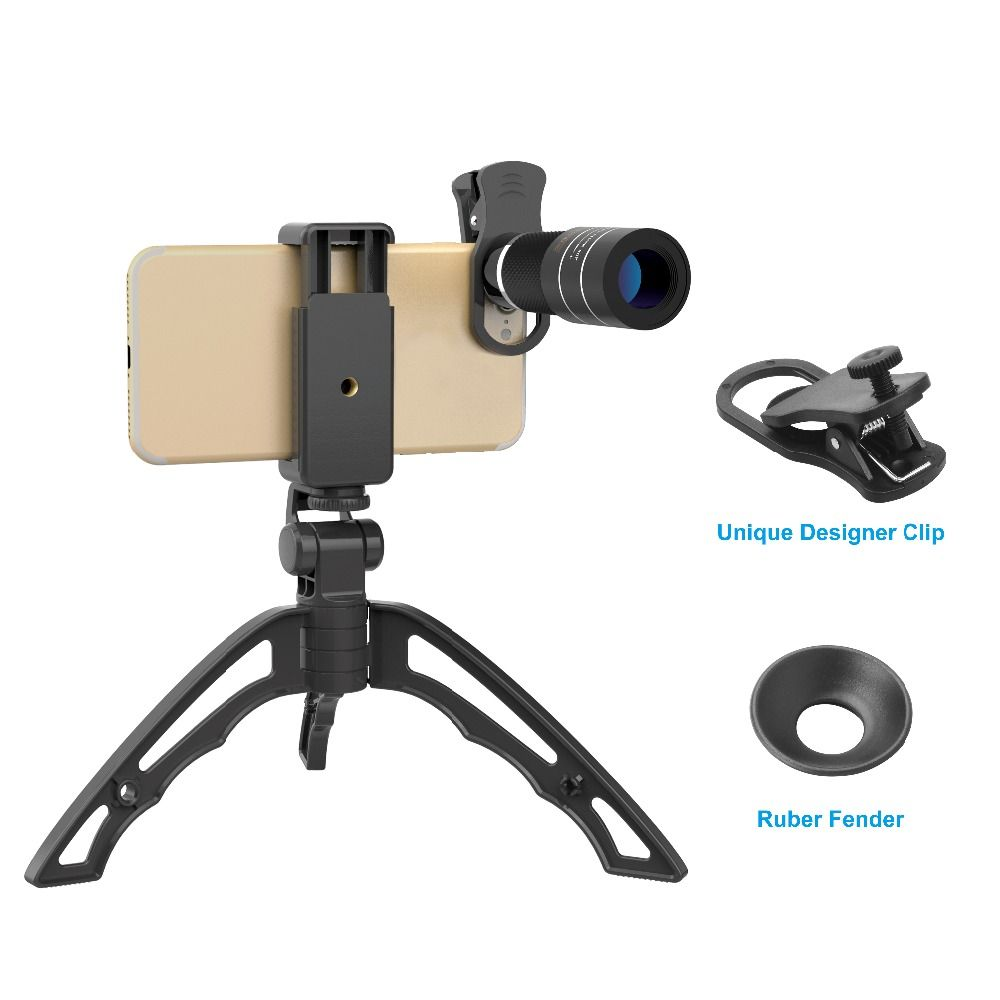 APEXEL Optic camera lens in phone lens 20X Telescope monocular lens for iPhone X 7 8 plus Xiaomi HTC other smartphone World Cup