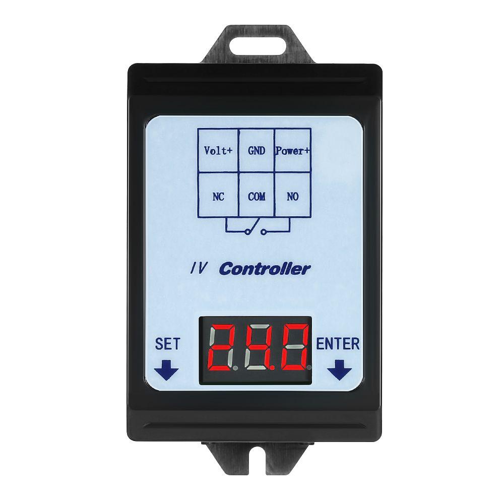 Relais Schalter Controller DC 6 ~ 80 v Spannung Erkennung Lade Entladung Monitor mit Fall Digital display DC spannung erkennung